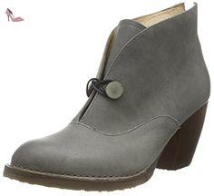 Neosens  VERDIL, Bottes Classiques femme - Gris - Gris, Taille 37 - Chaussures nosens (*Partner-Link)