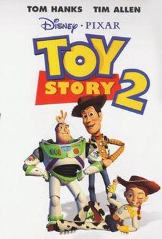 Toy Story 2, film poster: 1999. Original: 1999.