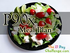 p90x Diet Meal Plan - Getting shape for that special day.