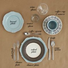 Create a semi-formal setting with just 10 tabletop pieces.