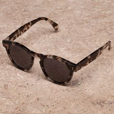 Fancy - Leonard White Tortoise Sunglasses by Illesteva