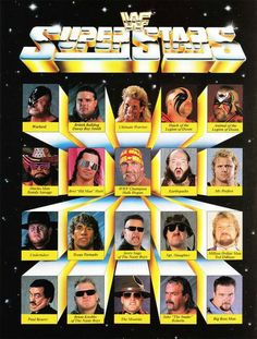 WWF wrestling. Every weekend was spent watching this. Before it was WWE