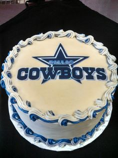 Best Team Cake Dallas Cowboys Cowboy Cakes Football Birthday Sport