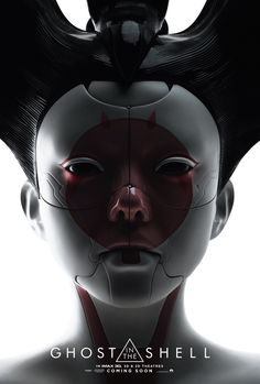 Smashing New IMAX Posters For GHOST IN THE SHELL Feature Scarlett Johansson's The Major And Robo Geisha
