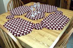 How to DIY Hexagon Lap Weave Coaster