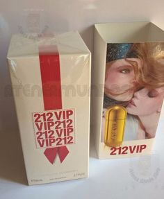 Perfume 212 Vip Mujer Carolina Herrera 80ml Importado Made in Spain