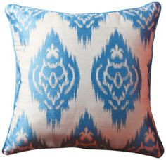 Sandy Wilson Ikat Collection Decorative Pillow, 20-Inch by 20-Inch Sandy Wilson,http://www.amazon.com/dp/B007W9G1H8/ref=cm_sw_r_pi_dp_HGARsb1S1HRRE236
