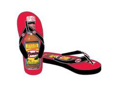El Yucateco Flip Flops - Black & Red – El Yucateco Gear Shop