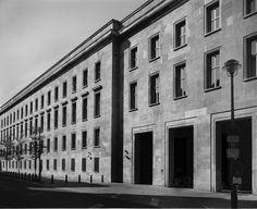 Another photo of the Reichsministerium für Volksaufklärung und Propaganda (now Bundesministeriums für Arbeit und Soziales) in Berlin. Photo by Peter Bennett.