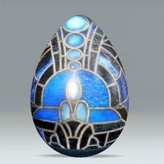 Easter Egg_Art Deco