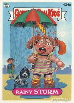 Garbage Pail Kids Rain Original Series 11 | GEEPEEKAY
