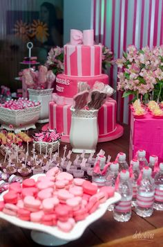 13th Birthday Parties, Birthday Party For Teens, 17th Birthday, Pink Birthday, Sweet 16 Birthday, Birthday Party Decorations, Birthday Ideas, Daughter Birthday, Victoria Secrets