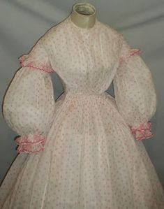 All The Pretty Dresses: Super sweet American Civil War era dress