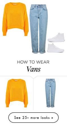 """""""Sin título #1085"""" by ariannastradlin on Polyvore featuring Topshop and Vans"""