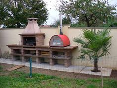 outdoor pizza oven & grill