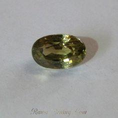 Zircon Greenish Yellow 2.32 carat