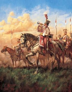 Trompeter of the Polish Lancers- by Keith Rocco