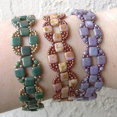 Jewelry Crafts, Jewelry Bracelets, Jewelery, Handmade Jewelry, Seed Bead Jewelry Tutorials, Coin Band, Bracelet Fil, Beaded Bracelet Patterns, Bead Patterns