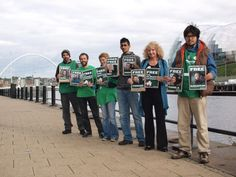 Newcastle in Solidarity with Arctic 30 | Greenpeace UK