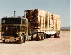 Freightliner Lumber truck