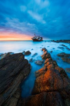 Meisho Maru Wreck Cape Agulhas National Park, Western Cape, South Africa Mark Dumbleton Photography