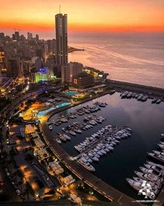 Beirut is the capital of Lebanon. Beirut has a typical Mediterranean climate. Beirut Nightlife, Places To Travel, Places To Visit, City From Above, Bolivia Travel, Beirut Lebanon, World Cities, Travel Goals, Travel Hacks