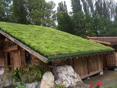 Hydropack green roof system steep roof