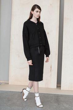 M.Patmos | Resort 2015 Collection | Style.com comment: good example of model pose