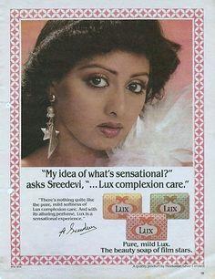 SriDevi Lux Ad