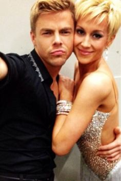 Kellie and Derek via @Houghinspired