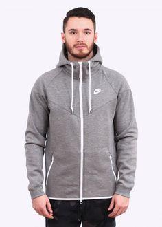 663601a65070 Nike Tech Fleece Windrunner - Carbon   Yellow