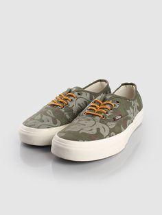 Vans - Authentic CA Floral Camo Olive | FreshCotton.com