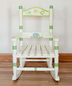 Wonderful Alphabet Rocking Chair