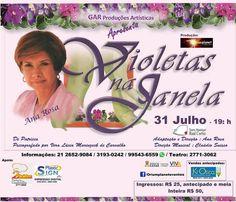 """GAR Produções Artísticas Apresenta """"Violetas na Janela"""" - Duque de Caxias - RJ - http://www.agendaespiritabrasil.com.br/2016/07/04/gar-producoes-artisticas-apresenta-violetas-na-janela-duque-de-caxias-rj/"""