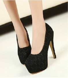lace sandals sexy platform thin heels high-heeled shoes toe cap shoe covering single shoes women's shoes
