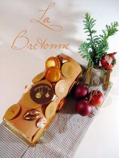 J'en reprendrai bien un bout...: La Bretonne - Bûche Noël 2014 -