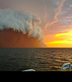 cyclone narelle, about to hit Western Australia