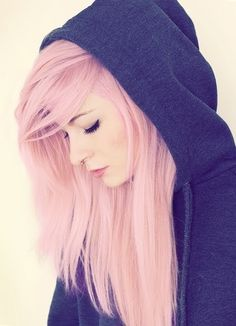 Long Pink Hair Pictures, Photos, and Images for Facebook, Tumblr, Pinterest, and Twitter