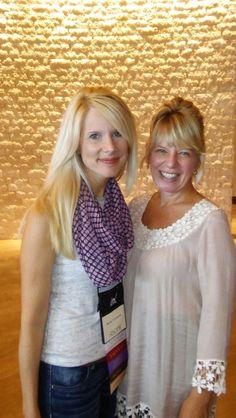 Laura Frantz & Kristy Cambron/Nashville/August2016 2 awesome authors!