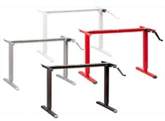 ModTable Crank Height-Adjustable Desk from MultiTable Reviewed by the editors of WorkWhileWorking.com