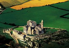 The Rock of Cashel, once the base of the Irish high king Brian Boru.
