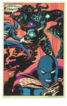 I love how comics can visualize anything. Even eternity.