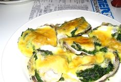 Oysters Rockefeller from Grand Central Oyster Bar