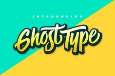 Ghost Type by Set Sail Studios on Creative Market