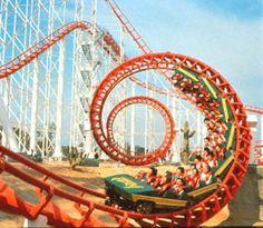 roller coasters awesome feel 4 peeps stuck invertigo roller coaster