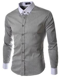 Casual Shirt Men 2016 Famous Brand Mens Shirts Long Sleeve Black Slim Fit Shirts Social Male <font><b>Holistic</b></font> Camisa Social Masculina