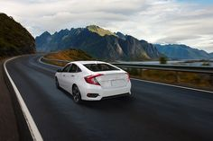 The road is wide open in the #HondaCivic.