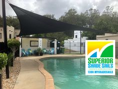 40 Best Swimming Pool Shade Sails images in 2019 | Canopies, Pool ...