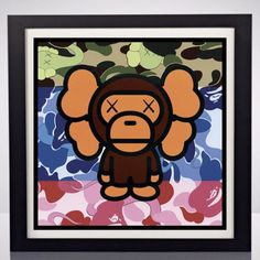 Kanye West History Face Poster Pop Culture Kaws Bape Hypebeast Poster Print