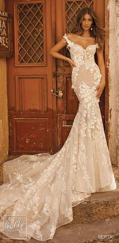 07c9c5e9ec2 BERTA Wedding Dresses Fall 2019. Свадебные Платья ...